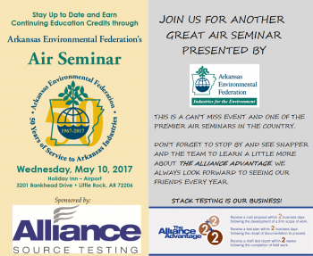 Air Regulation Seminar Sponsored by AST