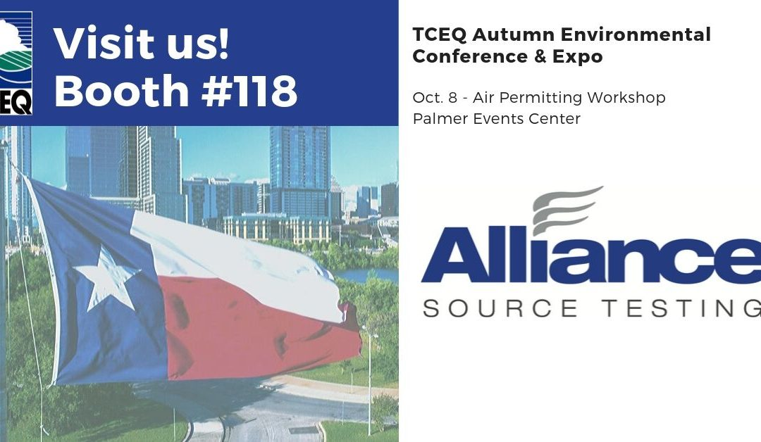Visit AST at TCEQ Autumn Environmental Conference